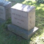 The grave of Amy Kirby Post
