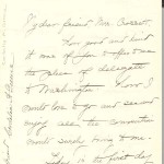 Letter from Cordelia A. Greene to Ella H. Crossett