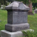 The grave of Frederick Douglass