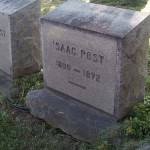 The grave of Isaac Post