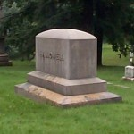 The memorial to the Hallowell and Willis families