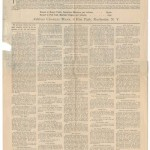 The History of Woman Suffrage newspaper advertisement, 1886