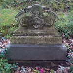 The grave of Dr. Sarah Dolley