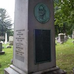 The grave of William Bloss